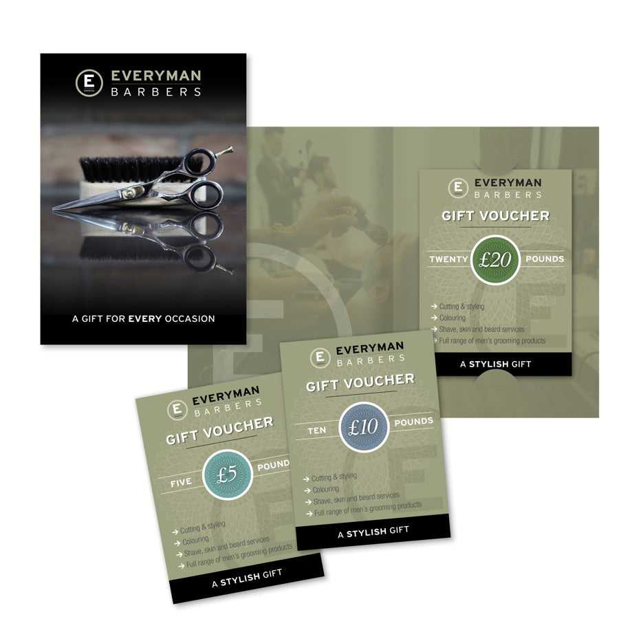 Everyman Barbers £20 Gift Voucher