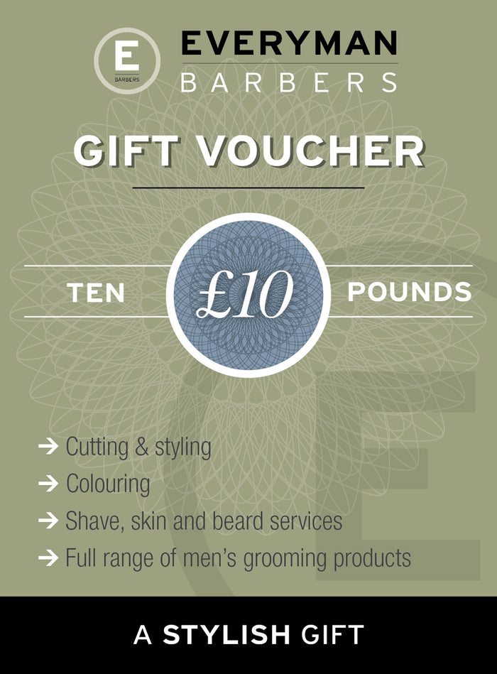 Everyman Barbers £10 Gift Voucher