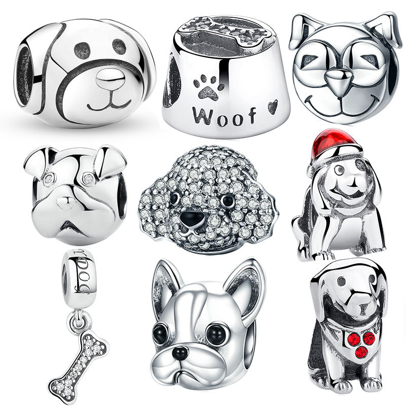 925 Sterling Silver A Dog S Story Poodle Cute Puppy French Bulldog