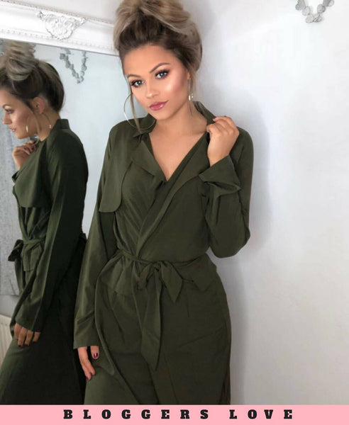Khaki Duster Jacket