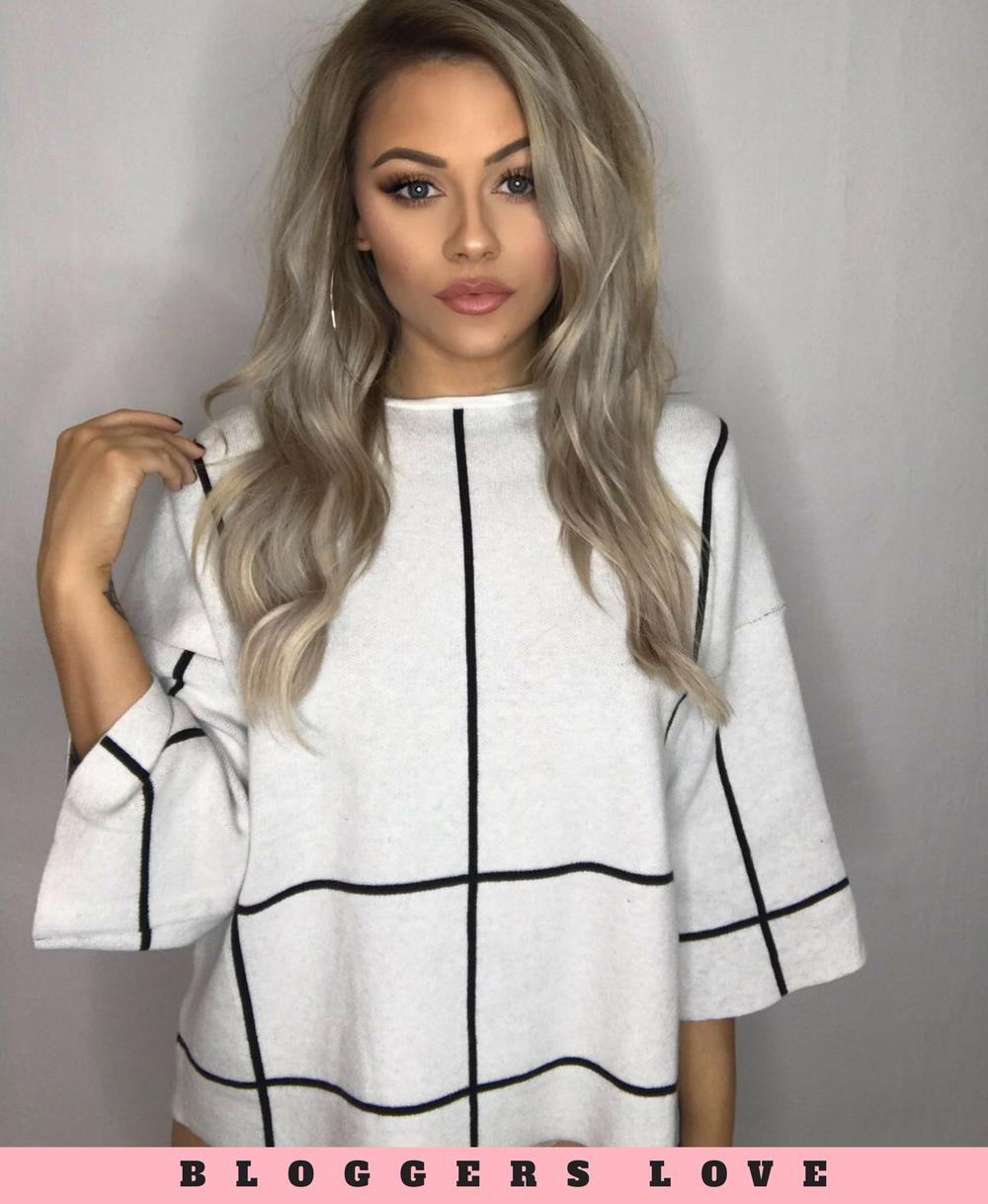 Grey Oversize Cropped Top