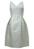 Geneva Jacquard Dress Mint