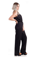 Strappy Aztec Jumpsuit