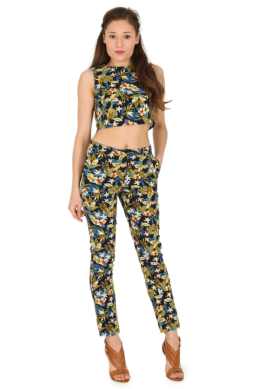 Floral Trouser Coord