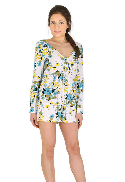 Spring Floral Playsuit