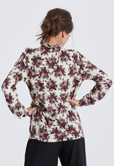Flower Bell Sleeve Jumper