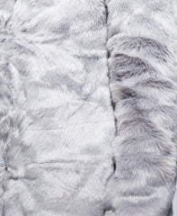 Light Grey Fur Coat