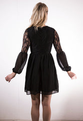 Lace 2 in 1 dress