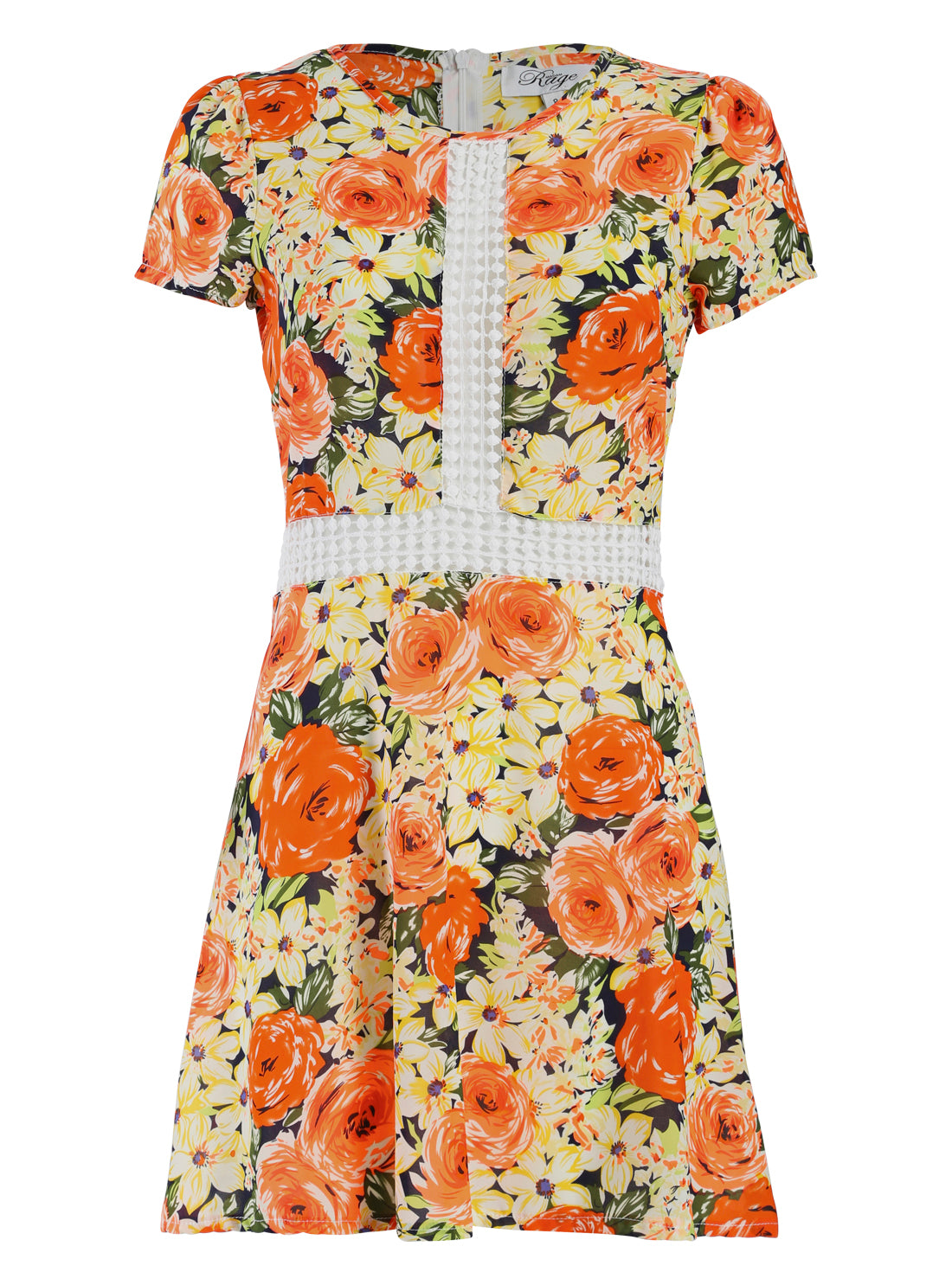 Floral Crotchet Dress