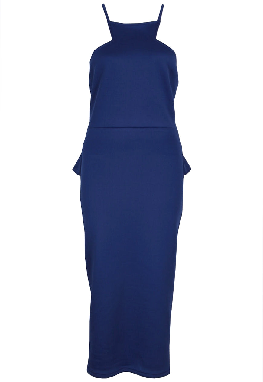 Madam Rage Midi Peplum Dress