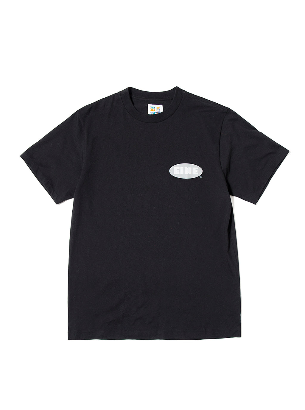 EINE Stock Logo S/S T-Shirt - Black Sample