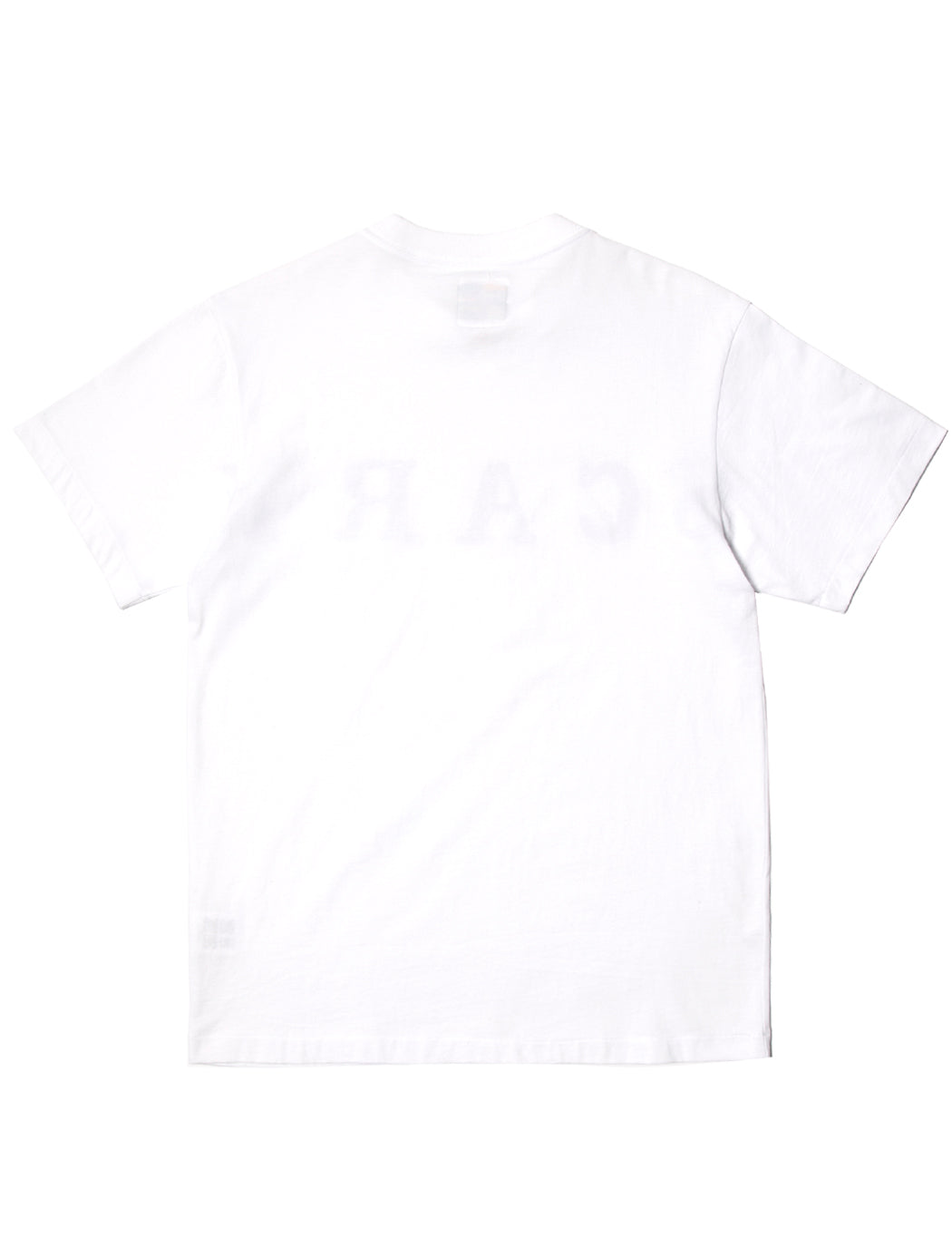 SCARY Oversized Text S/S T-Shirt - White - Eine London by Ben Eine