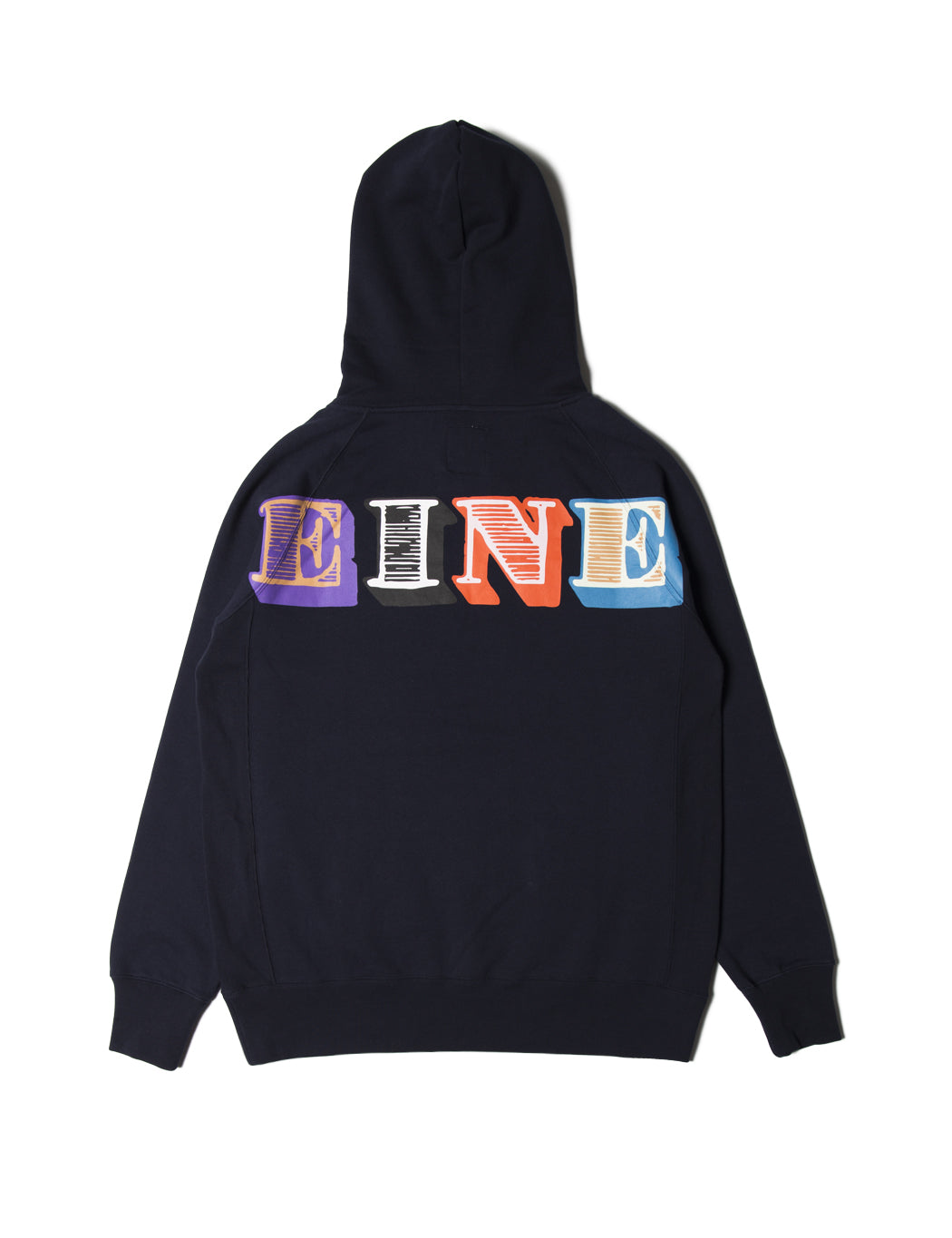 Eine Type Hooded Sweat - Navy - Eine London by Ben Eine