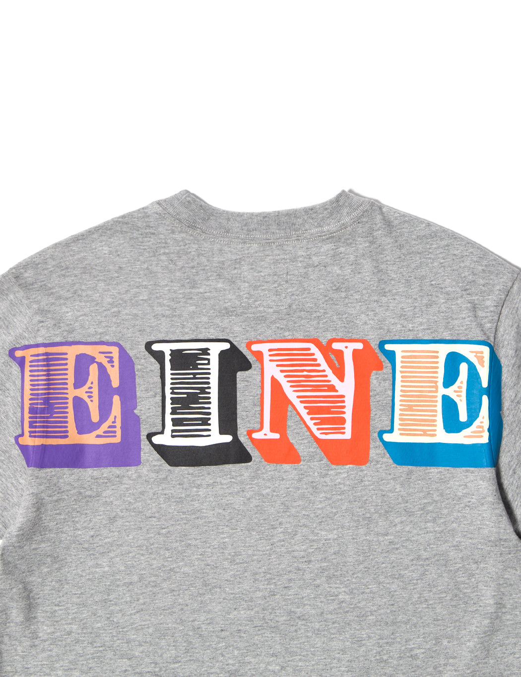 Eine Type S/S T-Shirt - Heather Grey - Eine London by Ben Eine