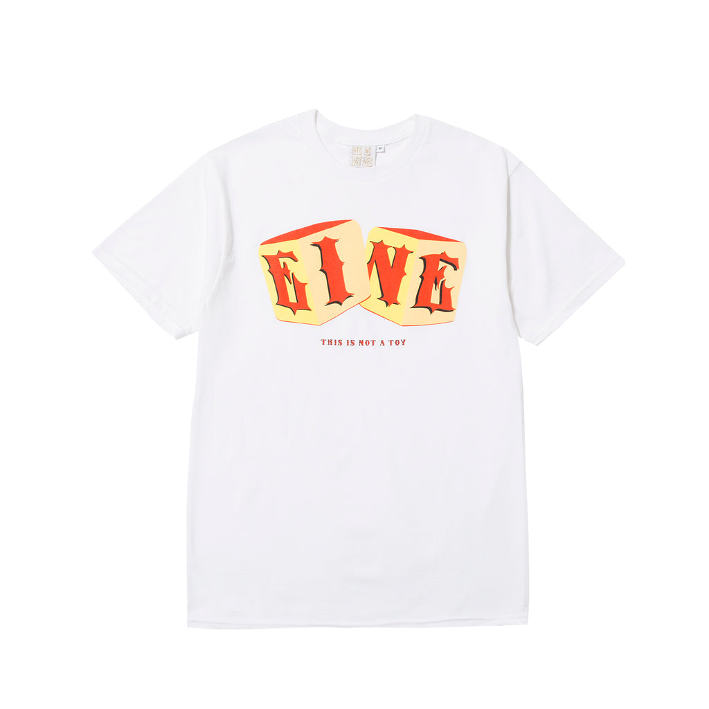 This is not a toy S/S T-Shirt - White