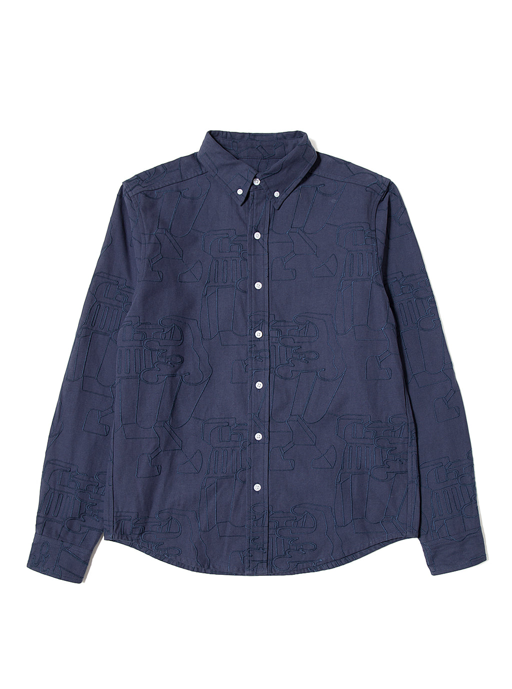All-Over Shirt - Blue
