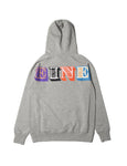 Eine Type Hooded Sweat - Heather Grey