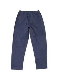 All-Over Pant - Blue
