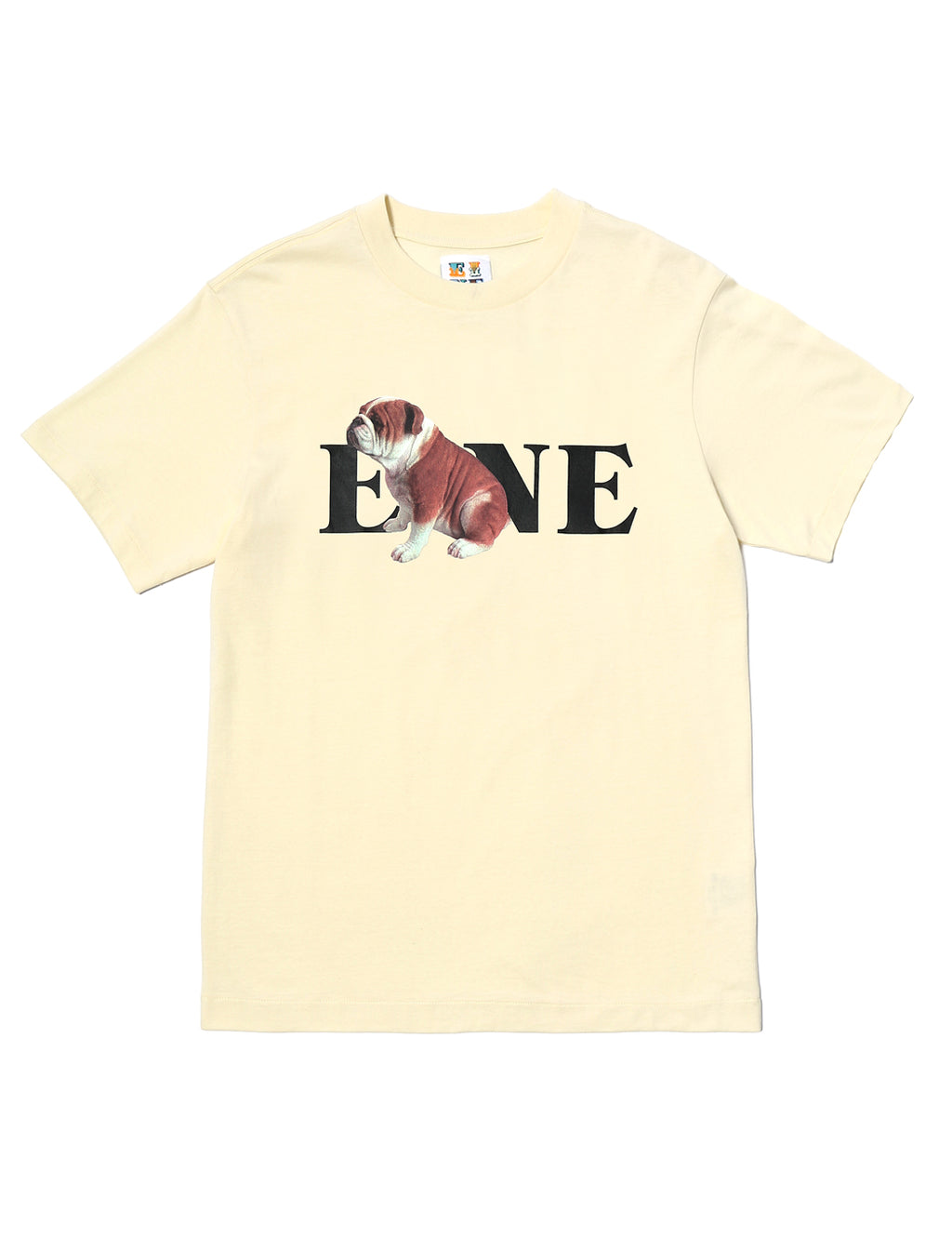 EINE Bulldog S/S T-Shirt - Off White
