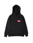 EINE Paint Hooded Sweat - Black