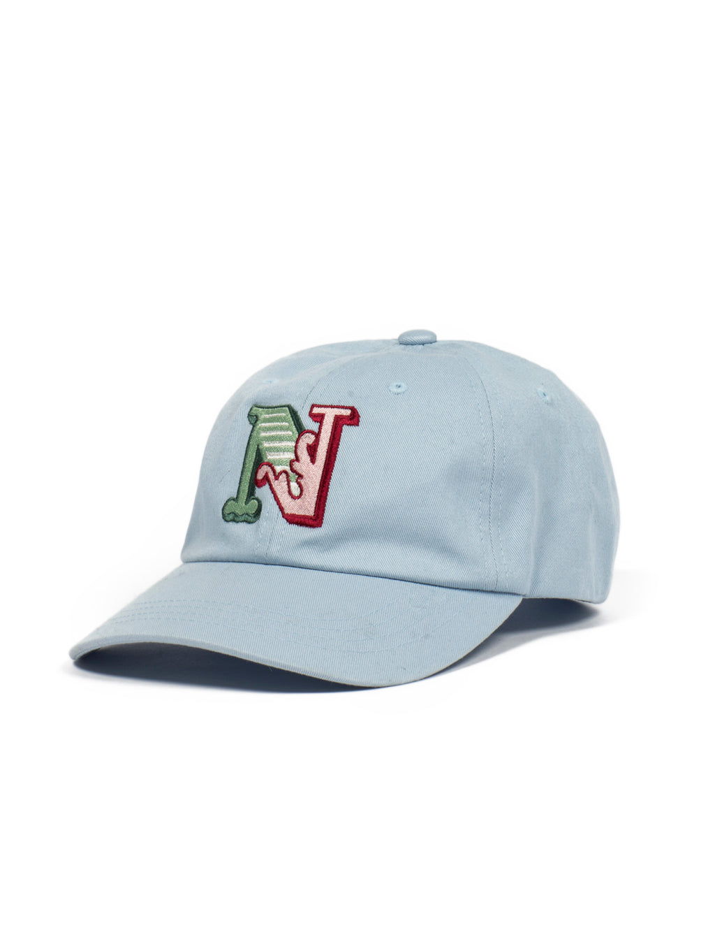 Circus N Cotton Baseball Cap  - Baby Blue - Eine London by Ben Eine