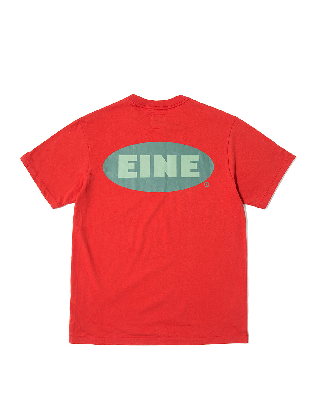 EINE Stock Logo S/S T-Shirt - Red Sample