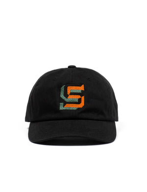 Gaspipe S Cotton Baseball Cap  - Black - Eine London by Ben Eine