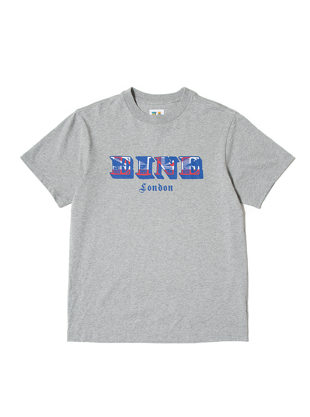 EINE British S/S T-Shirt - Grey Marl Sample