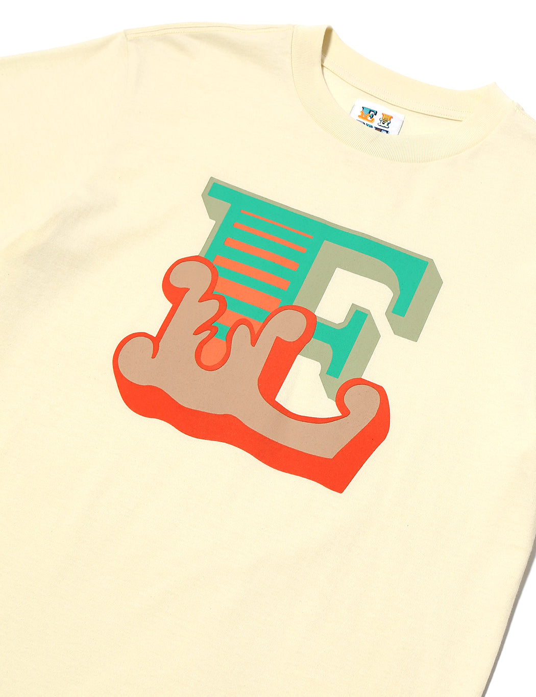 Circus E S/S T-Shirt - Off White - Eine London by Ben Eine