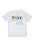 EINE Reversible Vandals S/S T-Shirt - White Sample
