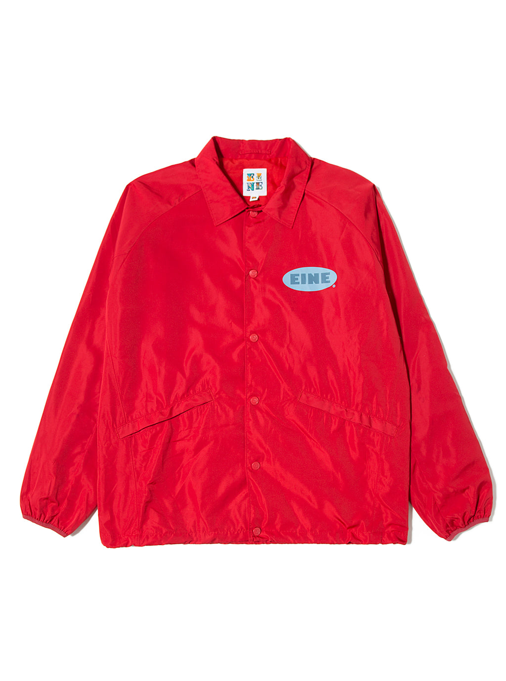 EINE Coach Jacket Red Sample