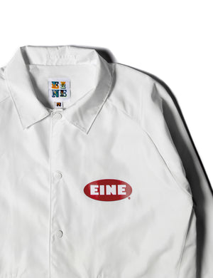 EINE Paint Coach Jacket - White - Eine London by Ben Eine