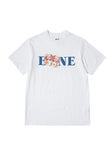 EINE Crown S/S T-Shirt - White Sample