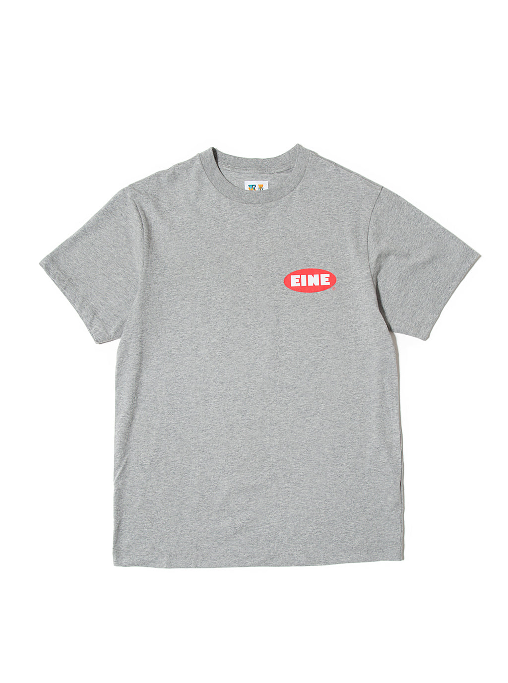 EINE Stock Logo S/S T-Shirt - Grey Marl Sample