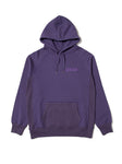EINE Contrast Hooded Sweat - Purple Sample