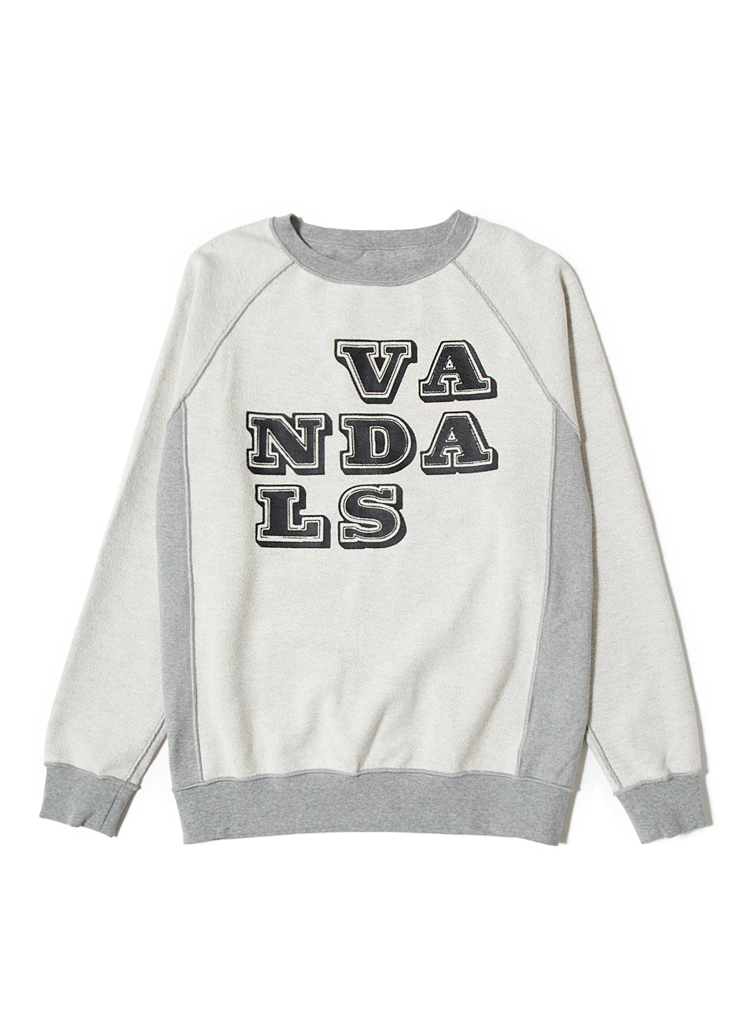Eine Reversible Crew Sweat - Heather Grey
