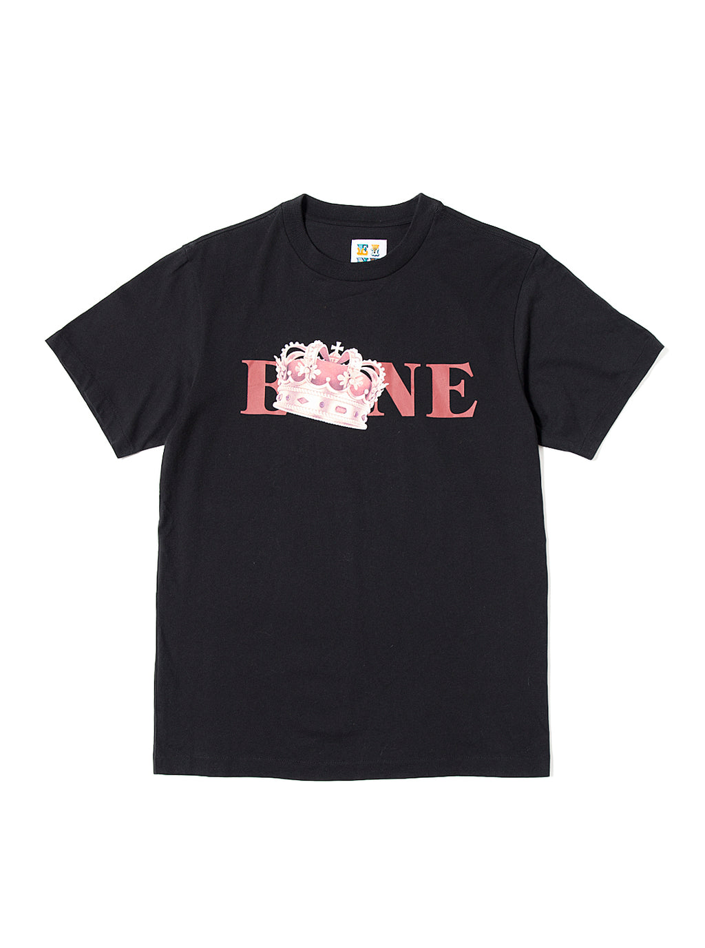 EINE Crown S/S T-Shirt - Black Sample