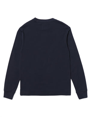 Circus E L/S T-Shirt - Navy - Eine London by Ben Eine