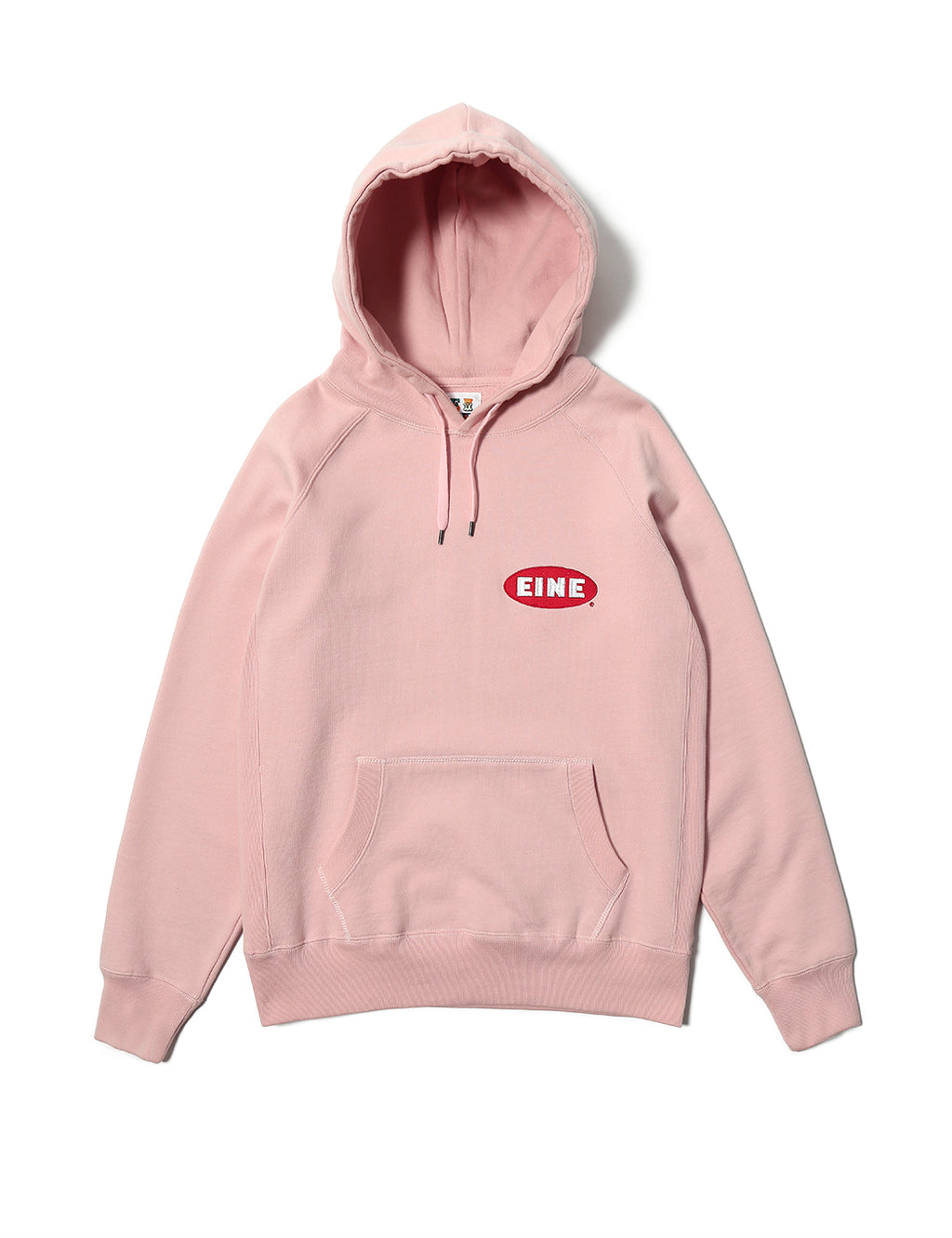 EINE Paint Hooded Sweat - Rose Pink
