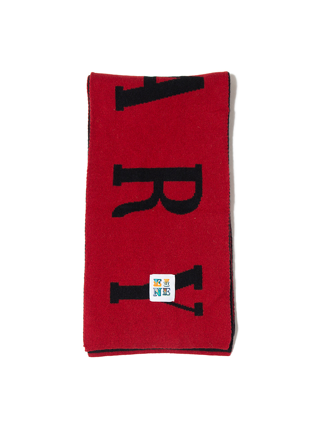 Scary Scarf - Black Red