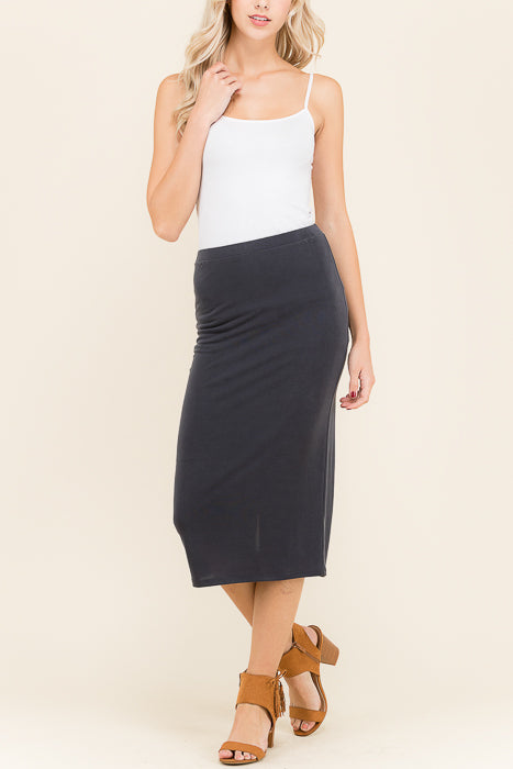 Lanai Back Zip Skirt - shopcoa