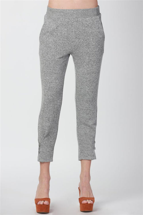 PLEAT WITH BUTTON JOGGER PANTS