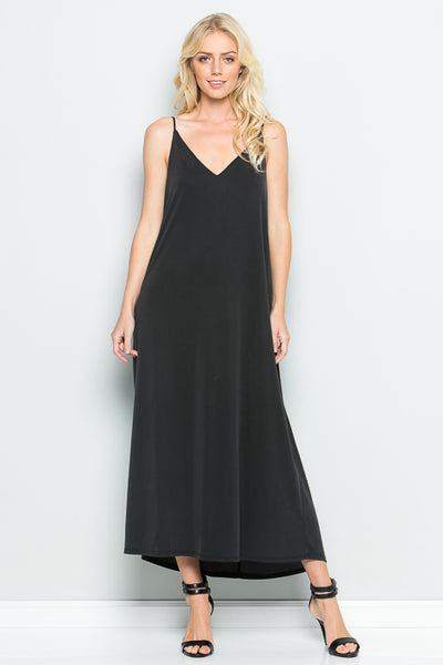 Long Slip Dress - shopcoa