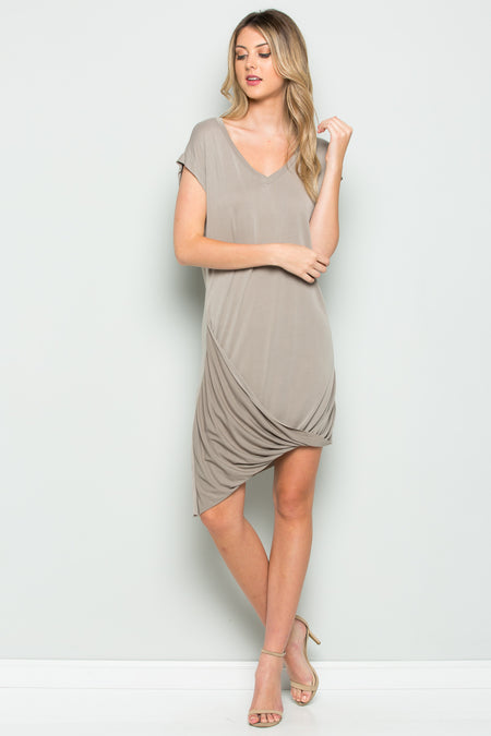 Side Cinched Tank Dress