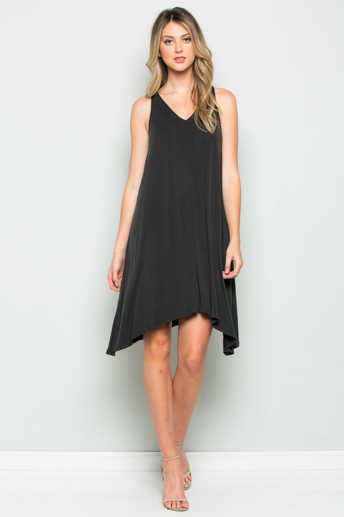 Asymmetrical Tank Dress