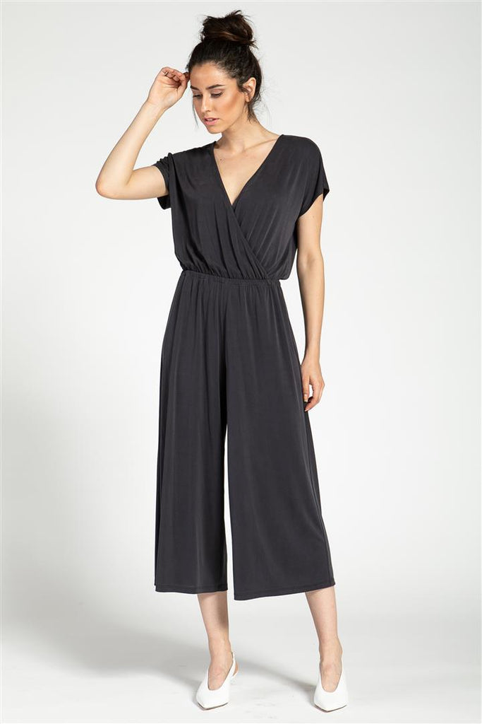 Cross Over Top Romper