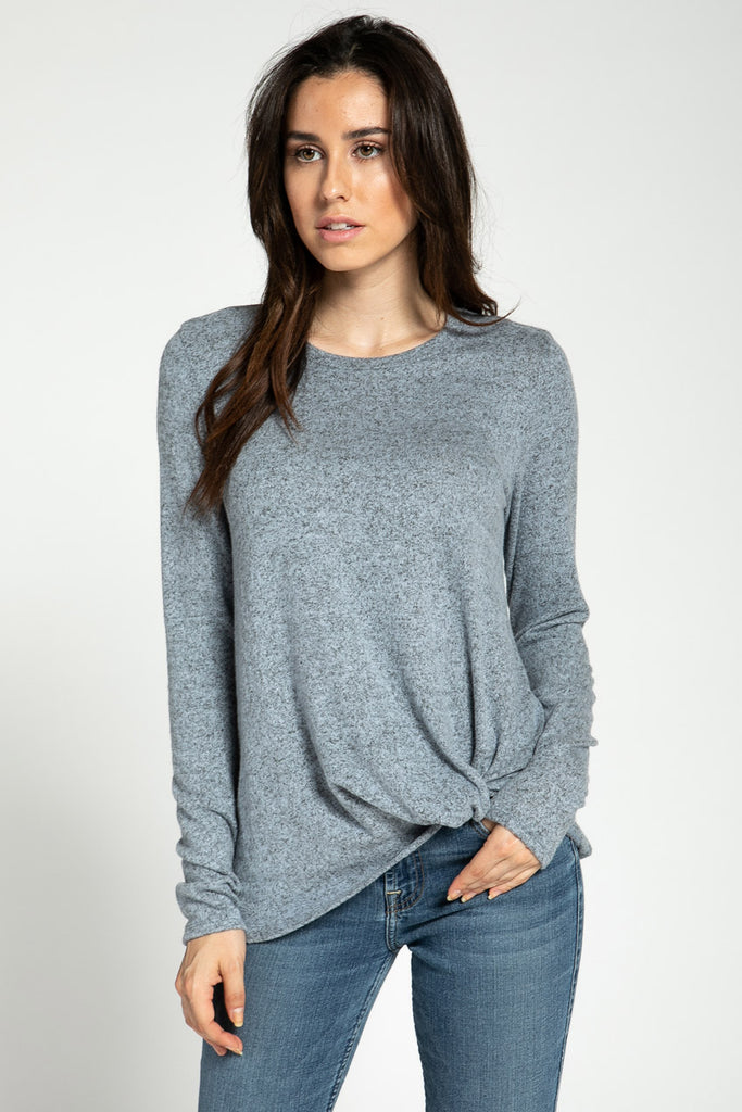 Knotted Soft Sweater