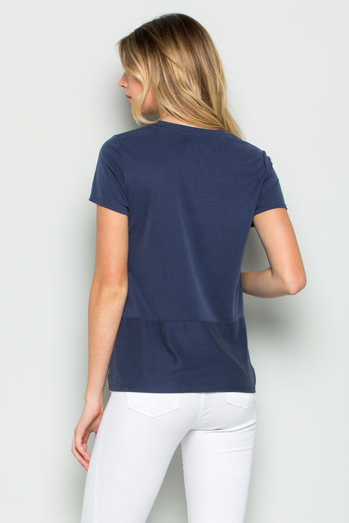 Savasana Twist Front Top