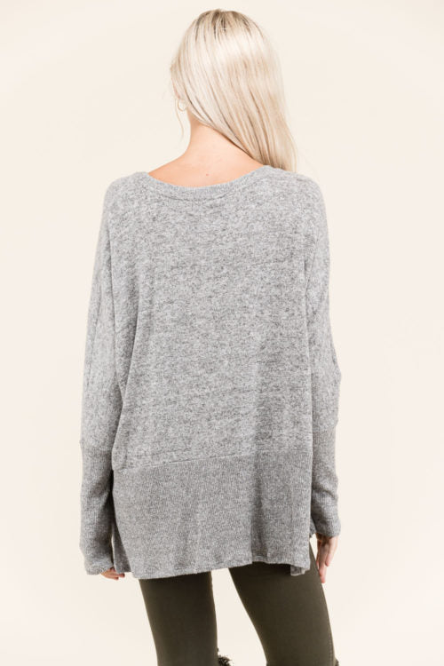 Relaxed Sweater - shopcoa