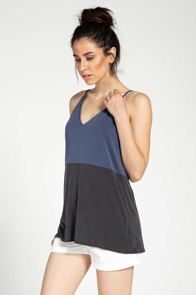 COLOR BLOCK CAMI